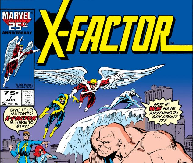X-FACTOR (1986) #7