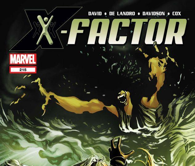 X-FACTOR (2005) #215