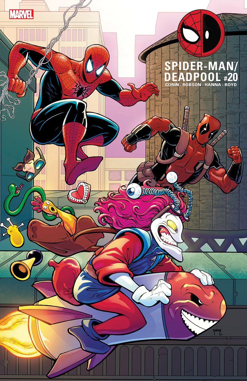 Spider-Man/Deadpool (2016) #20