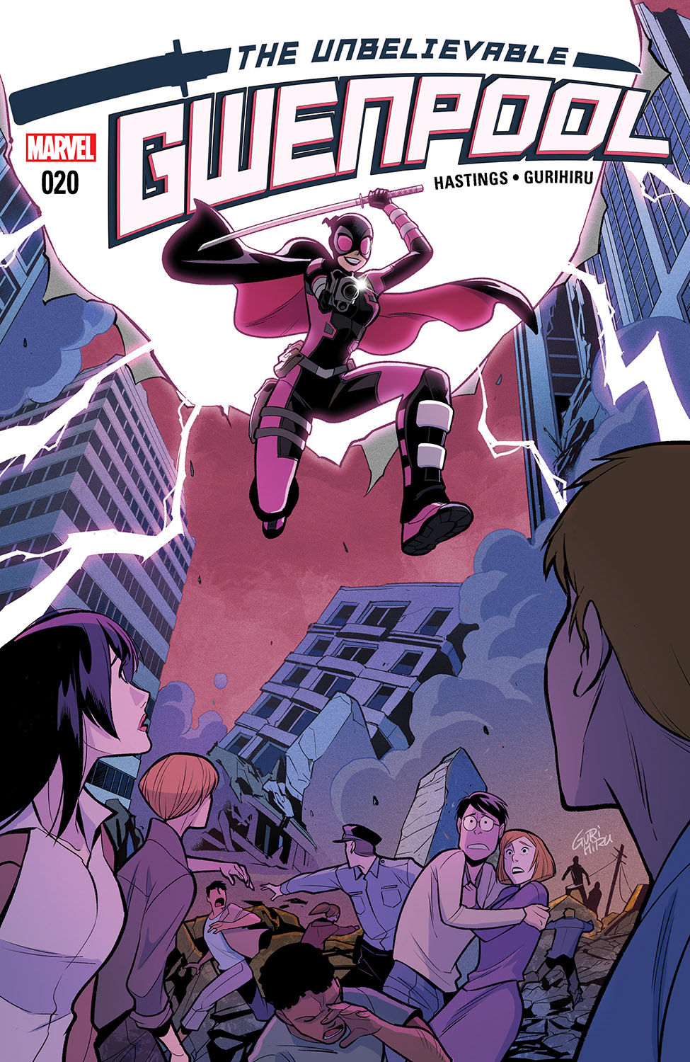 The Unbelievable Gwenpool (2016) #20