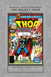 Marvel Masterworks: The Mighty Thor Vol. 16 (Hardcover)