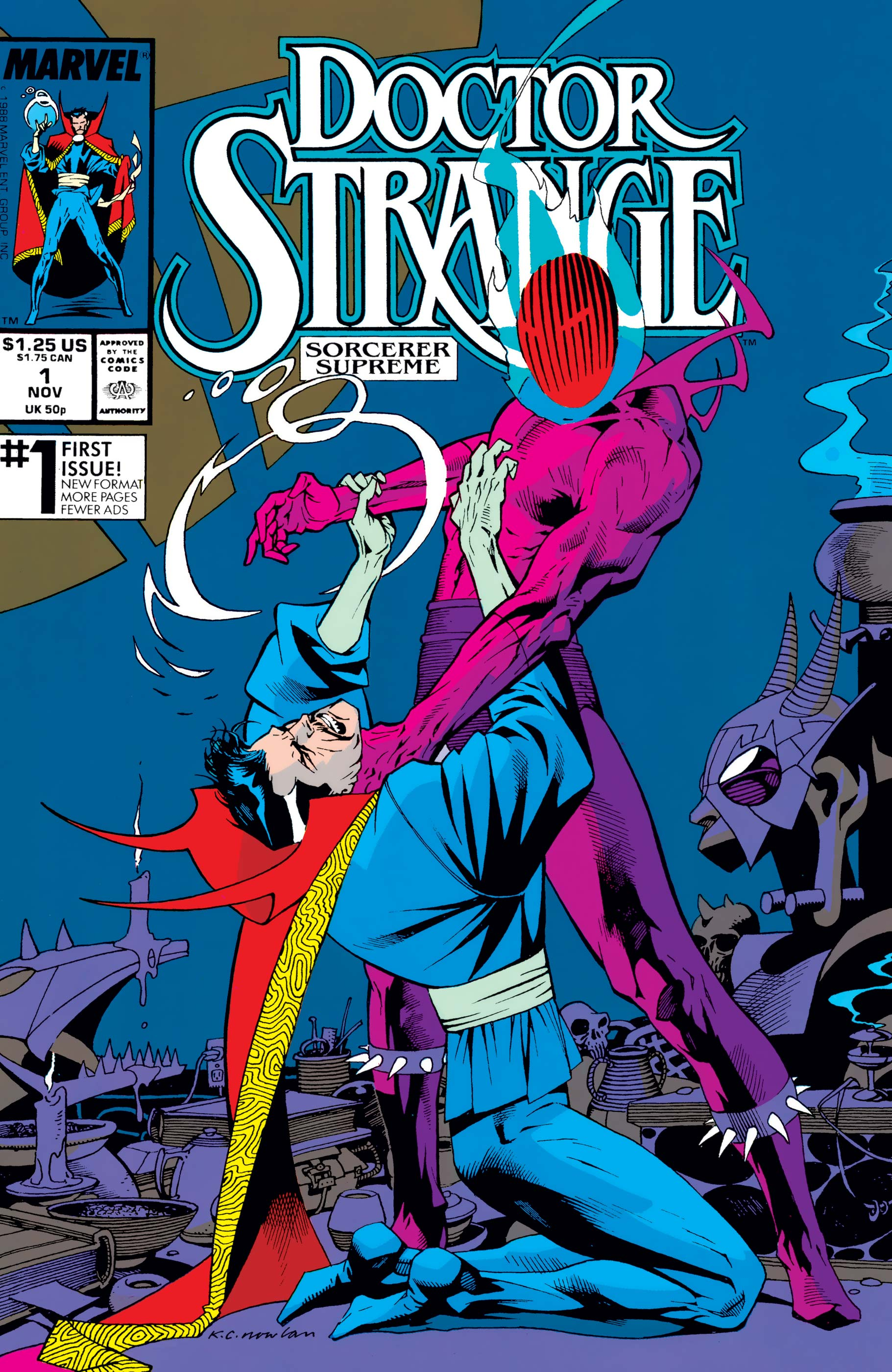 Doctor Strange, Sorcerer Supreme (1988) #1