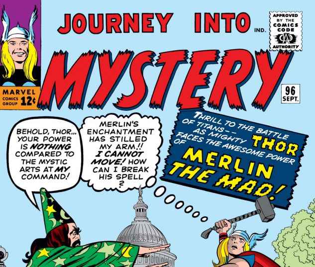 JOURNEY INTO MYSTERY (1952) #96