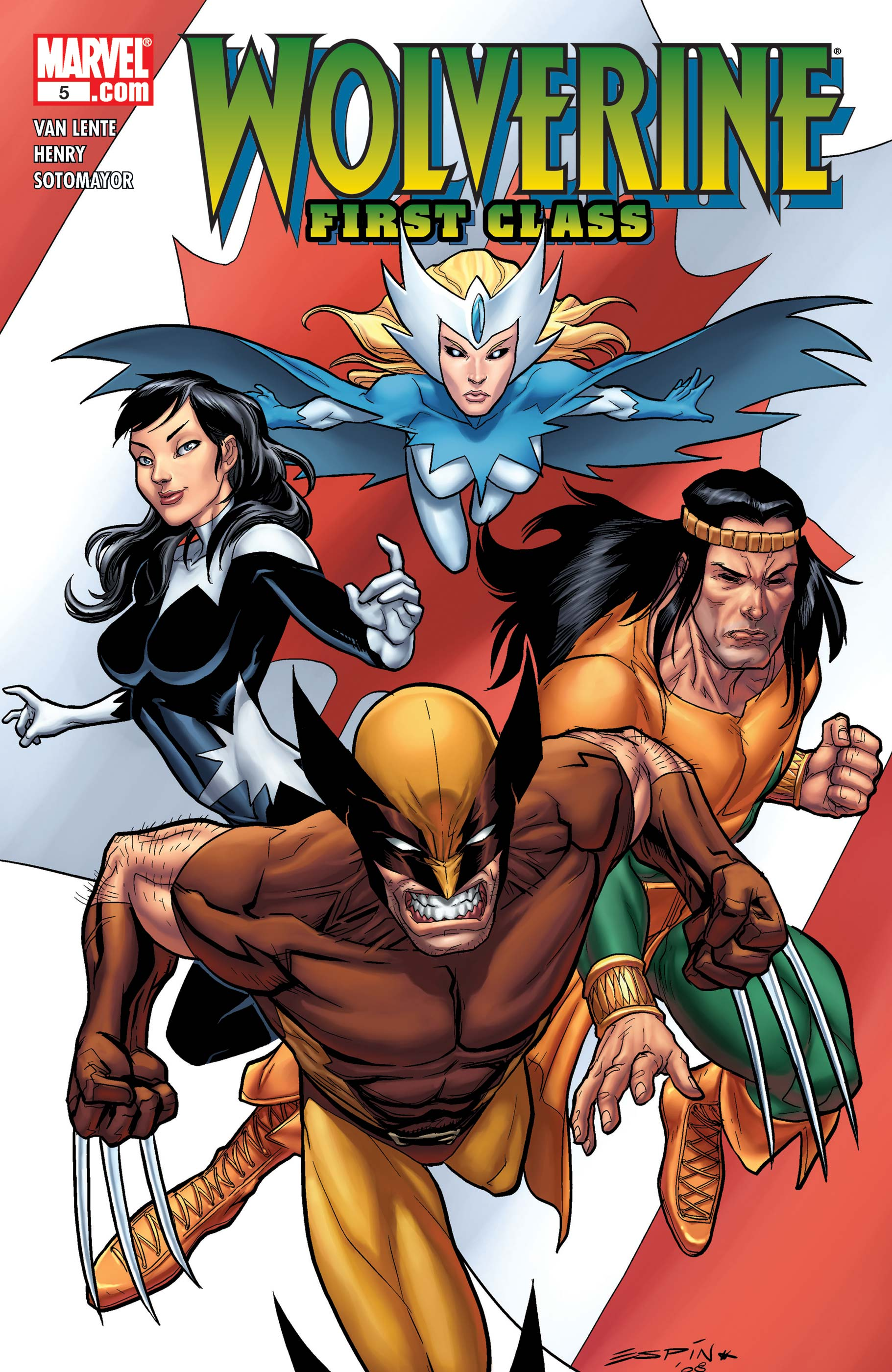 Wolverine: First Class (2008) #5