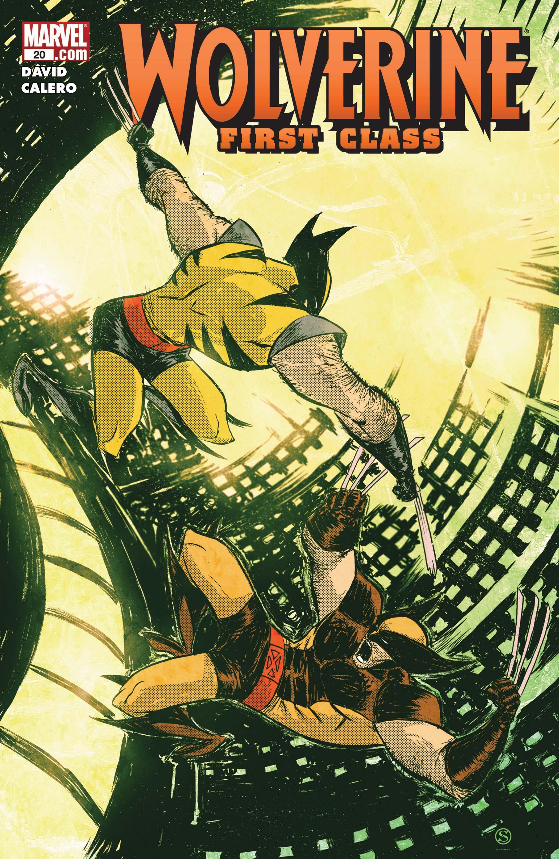 Wolverine: First Class (2008) #20