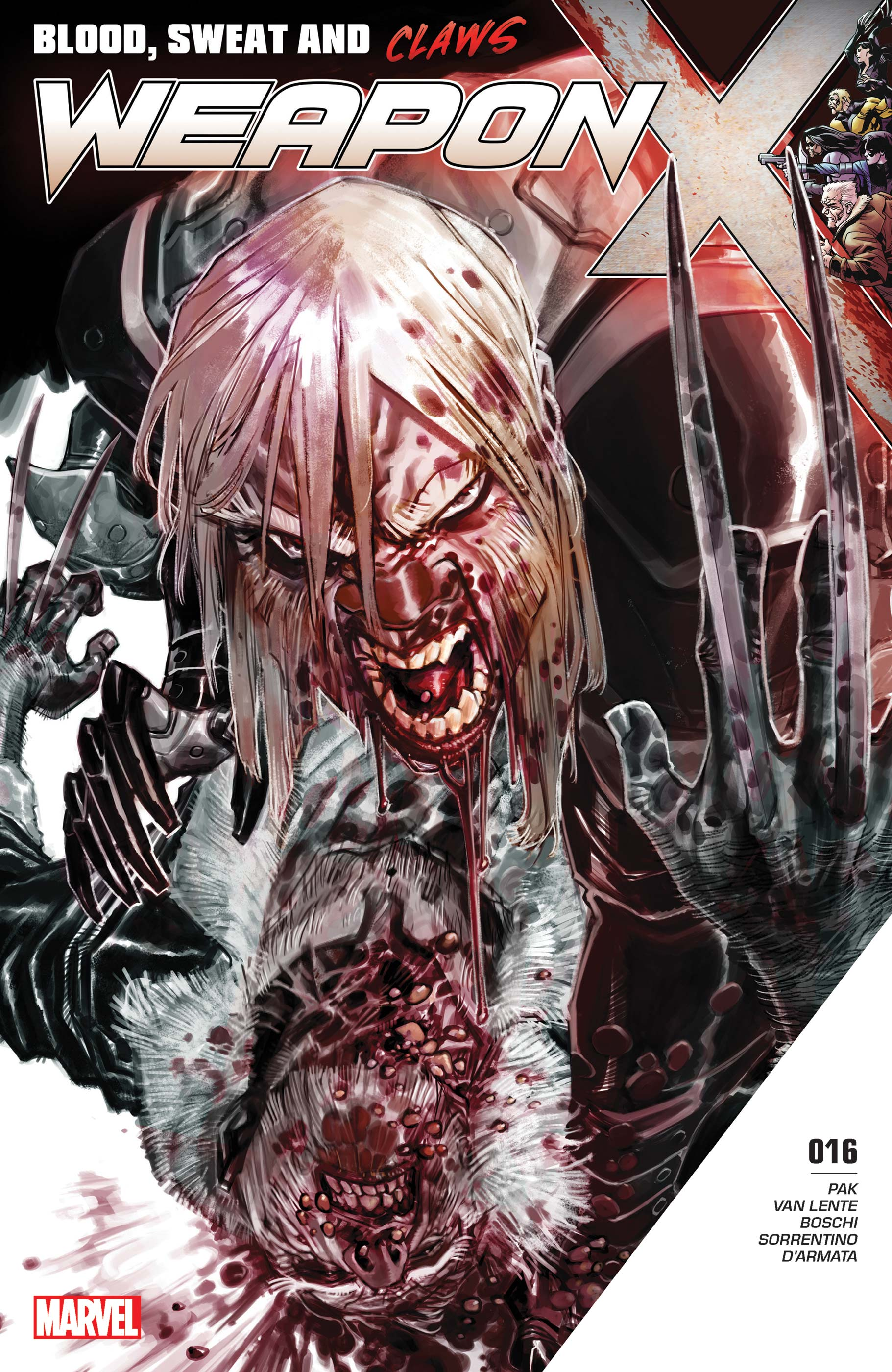 Weapon X (2017) #16