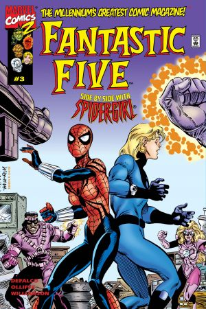 Fantastic Five #3