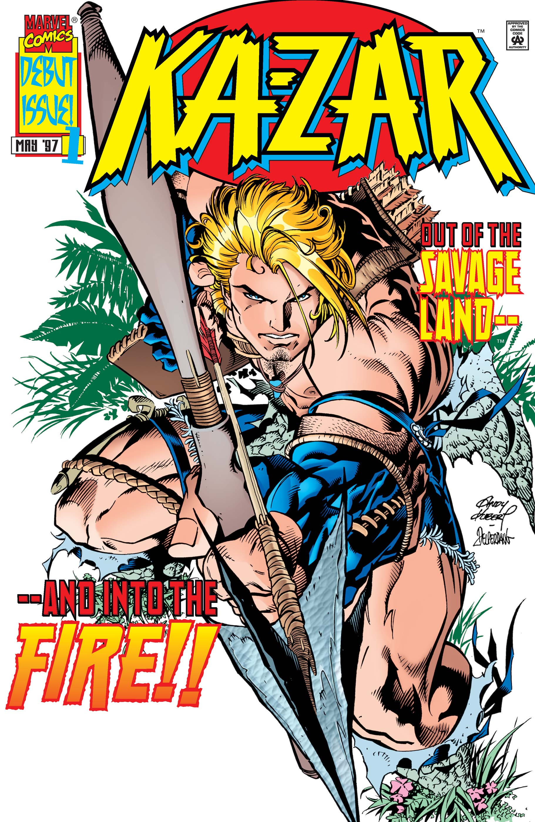 Ka-Zar (1997) #1