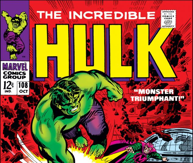 INCREDIBLE HULK (1962) #108