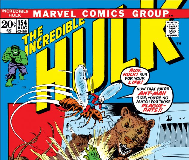 INCREDIBLE HULK (1962) #154