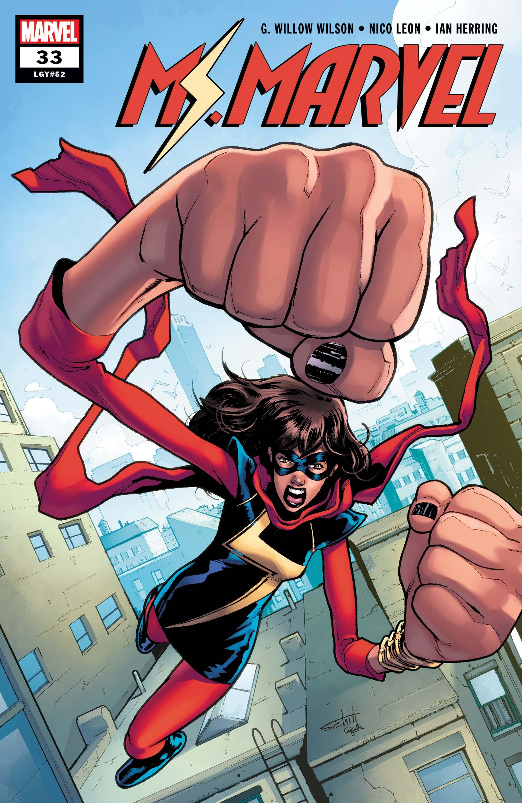 Ms. Marvel (2015) #33