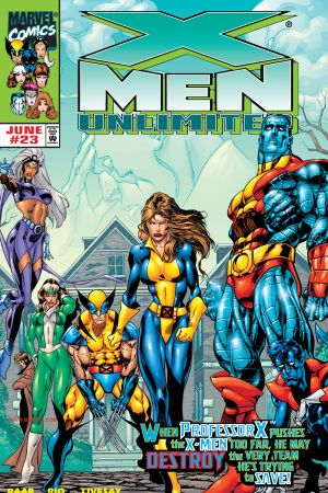 X-Men Unlimited #23