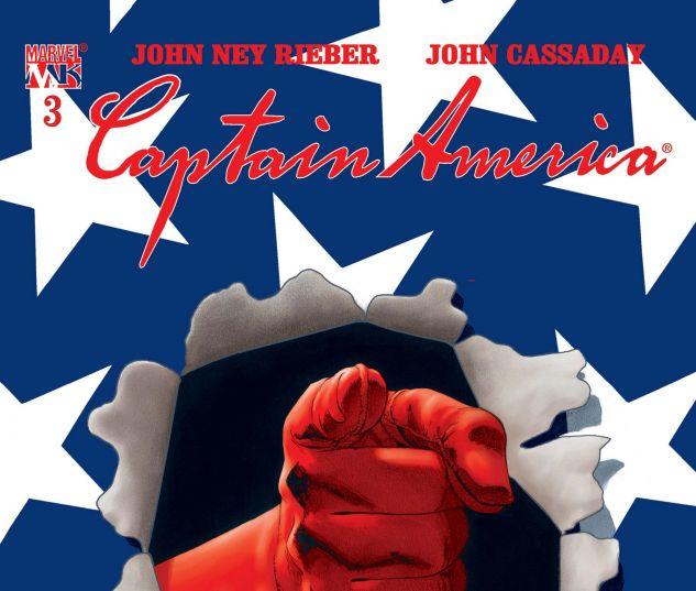 Captain America (2002) #3