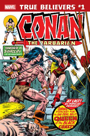 True Believers: Conan - Queen of the Black Coast! #1