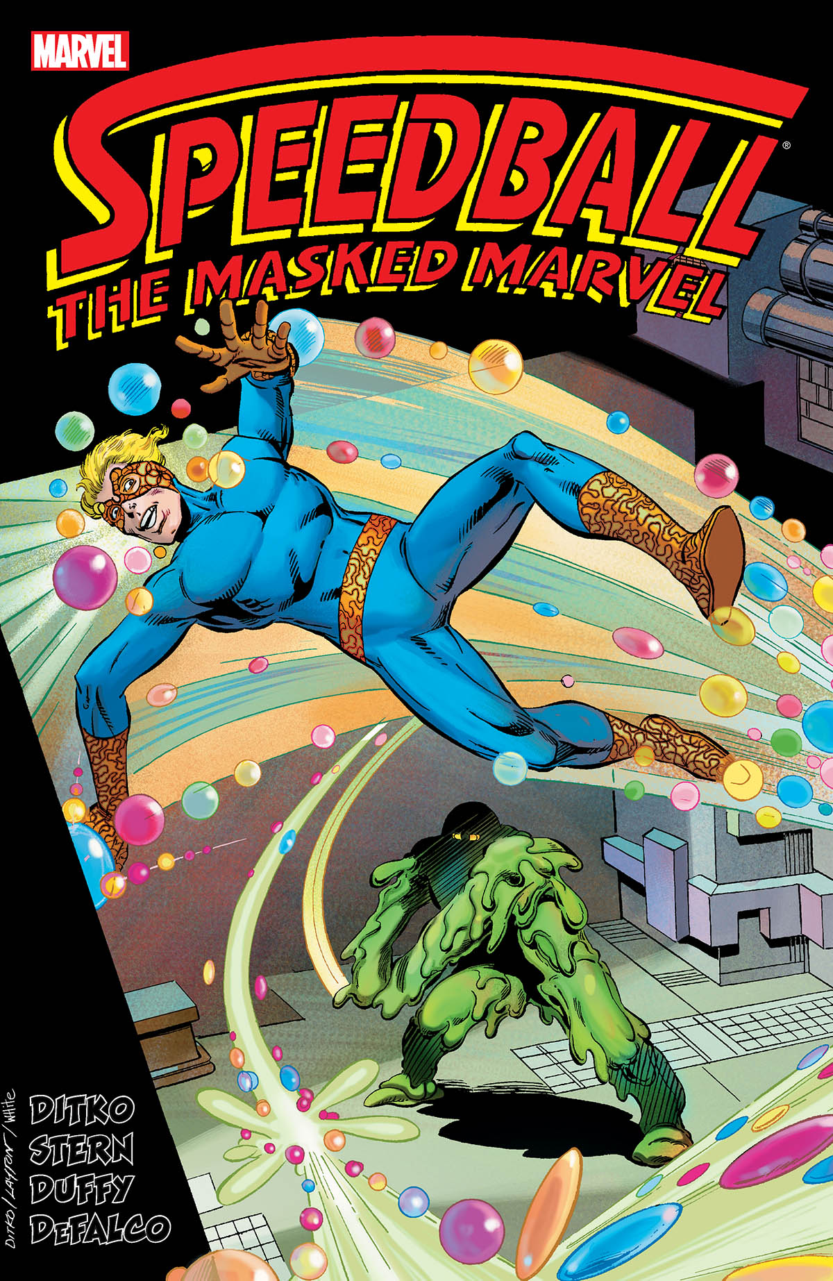 Speedball: The Masked Marvel (Trade Paperback)