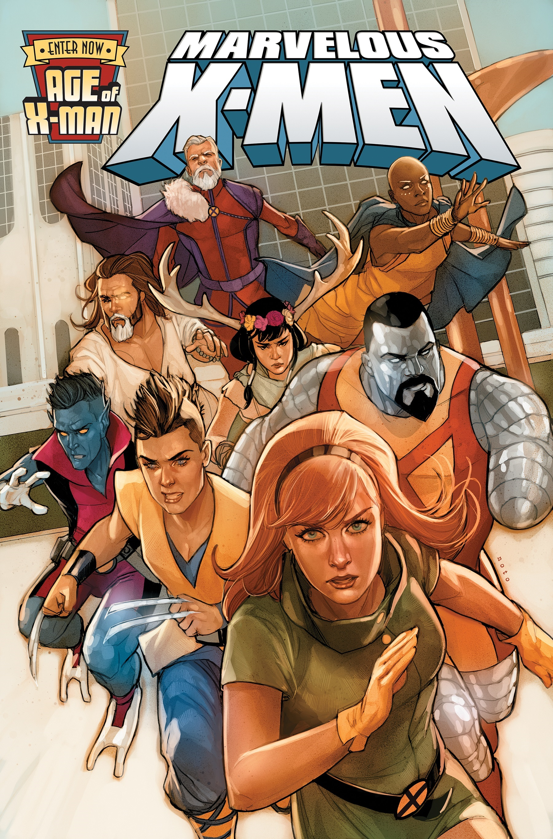 Age Of X-Man: The Marvelous X-Men (Trade Paperback)