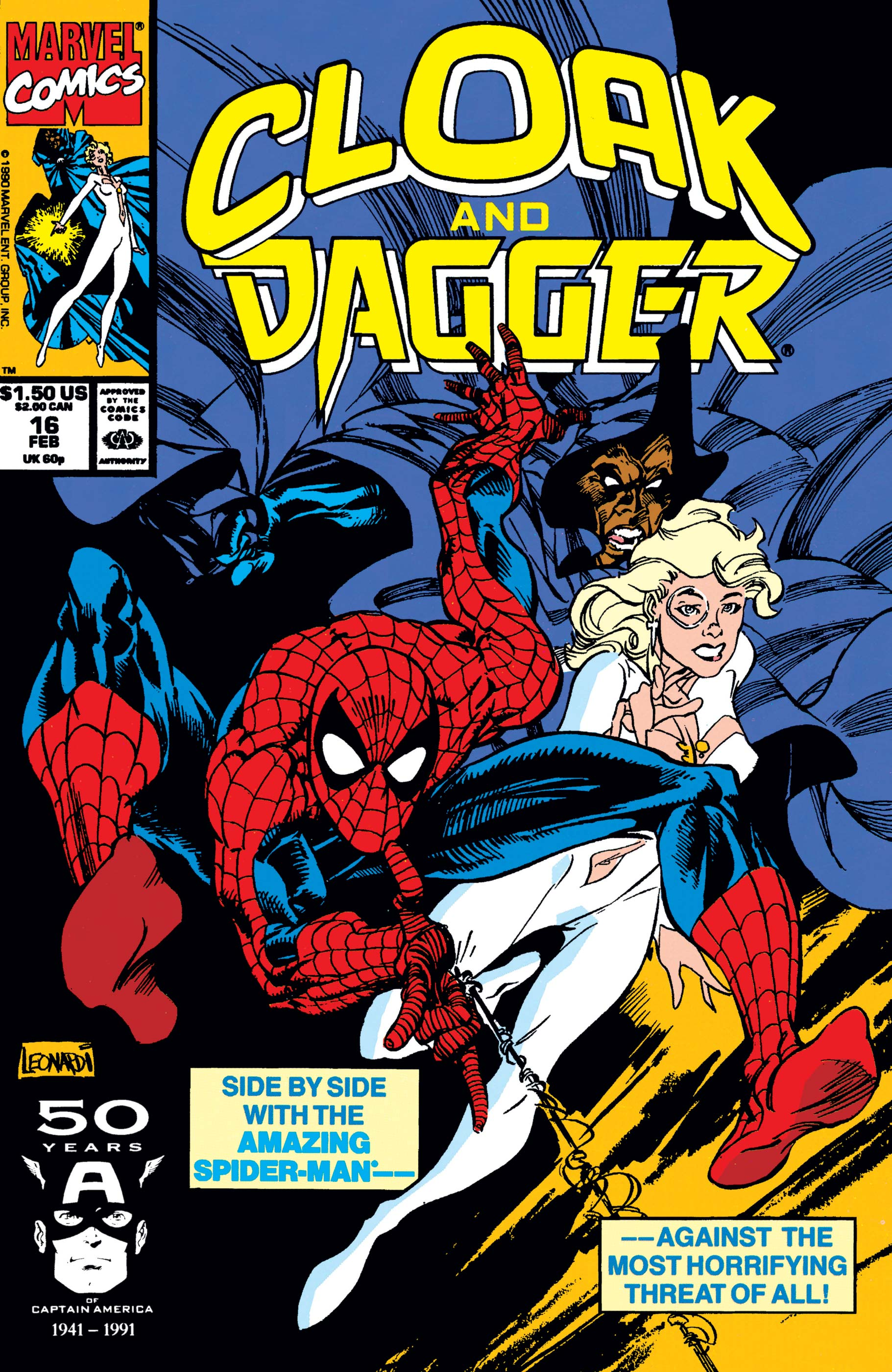 The Mutant Misadventures of Cloak and Dagger (1988) #16