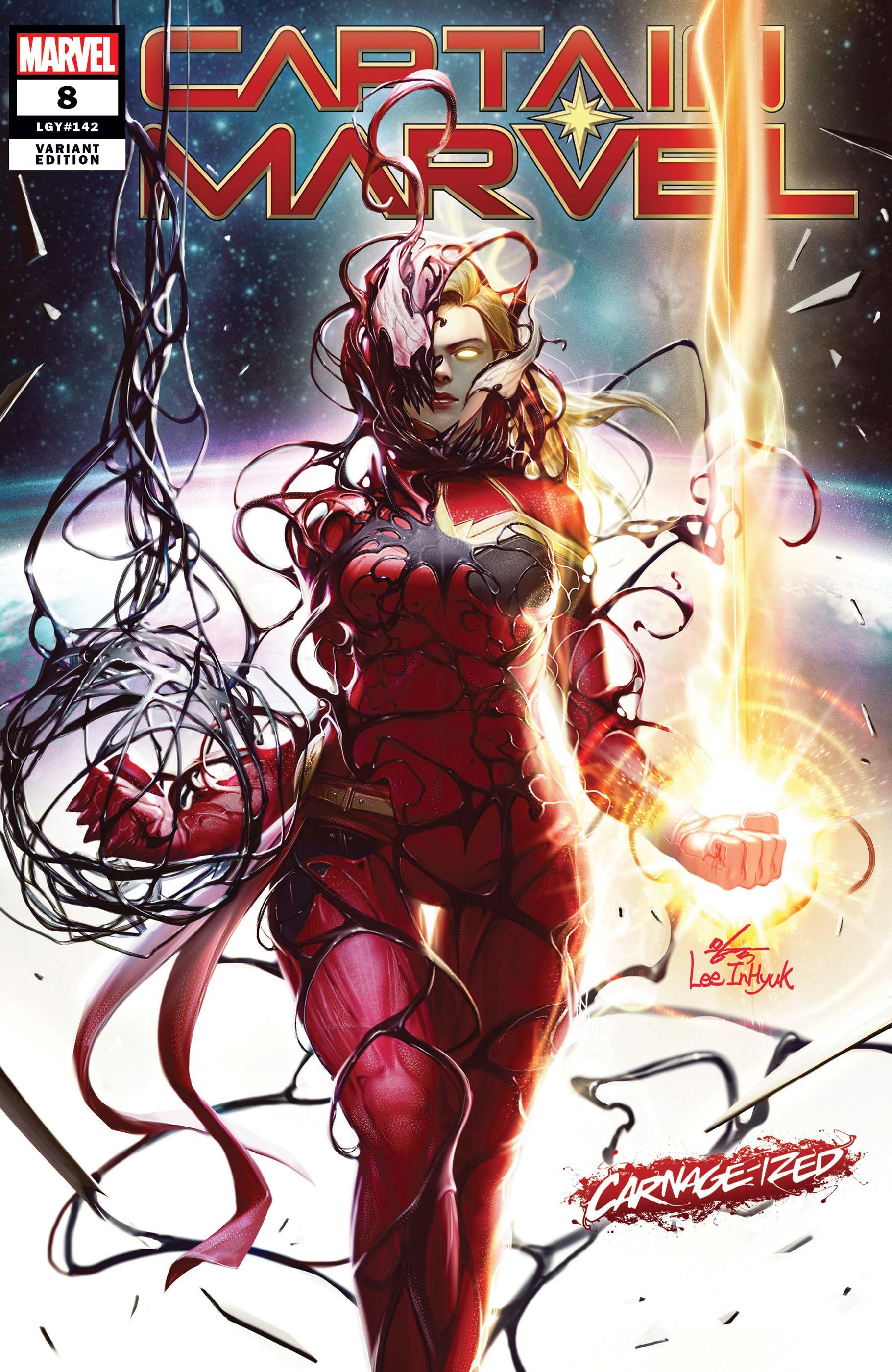 Captain Marvel (2019) #8 (Variant)