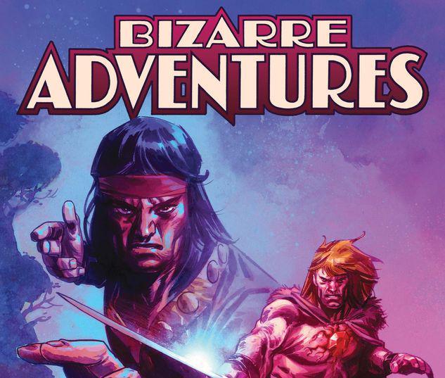 BIZARRE ADVENTURES 1 KLEIN VARIANT #1