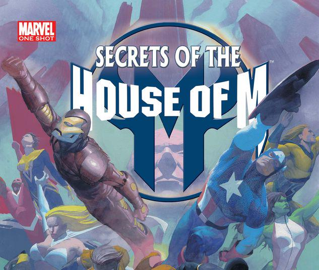 SECRETS OF THE HOUSE OF M 1 #1