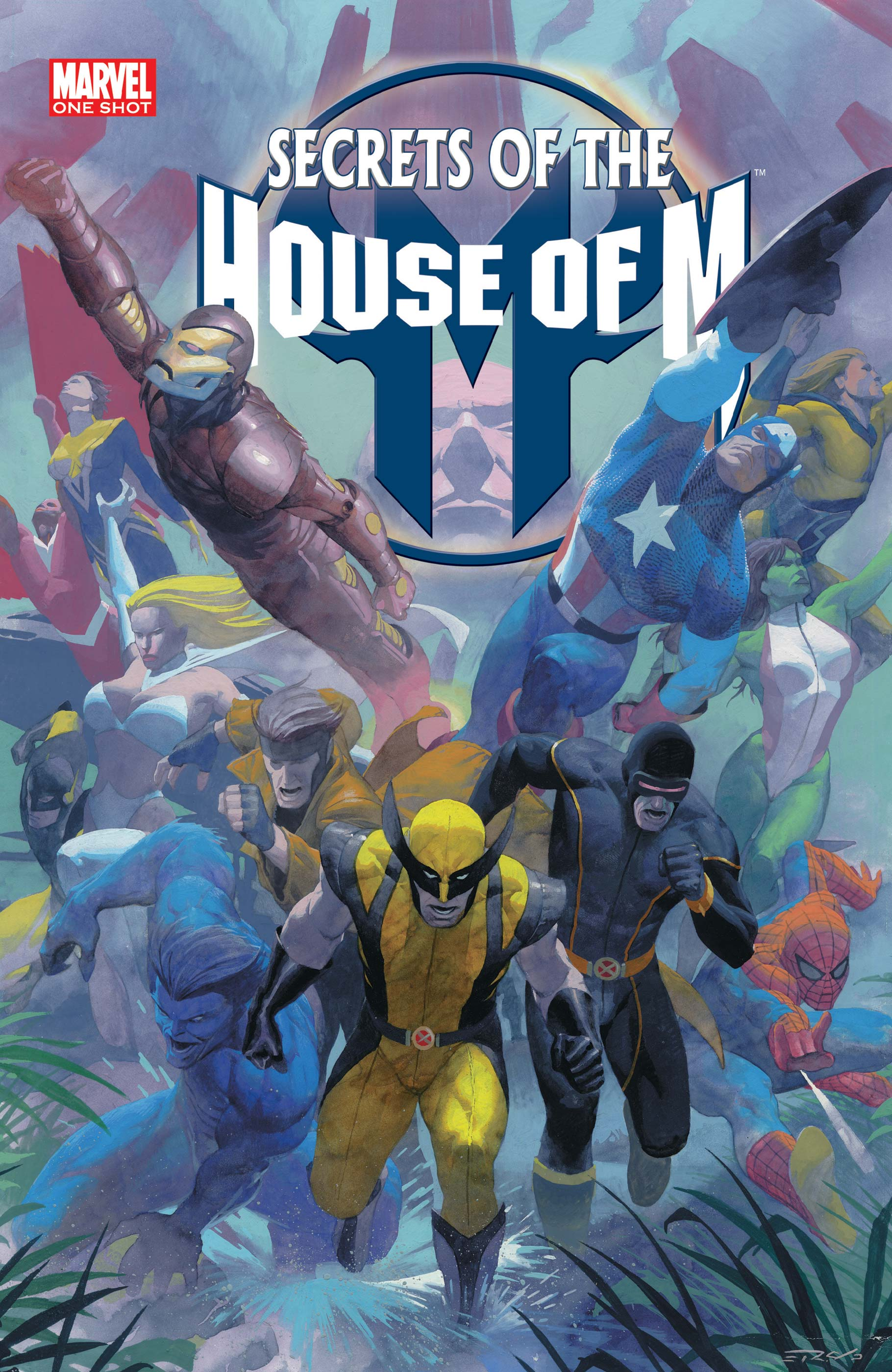 Secrets of the House of M (2005) #1