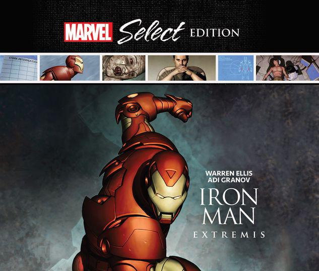 IRON MAN: EXTREMIS MARVEL SELECT HC #1