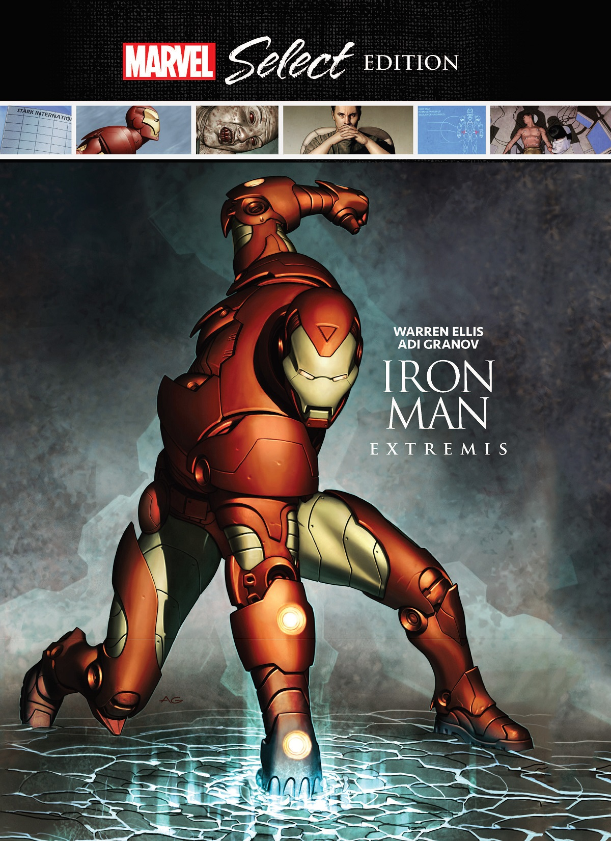 Iron Man: Extremis Marvel Select (Hardcover)
