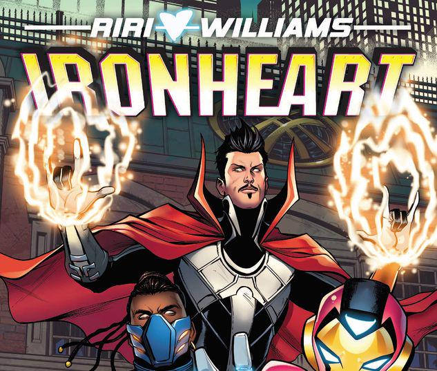 IRONHEART VOL. 2: TEN RINGS TPB #2