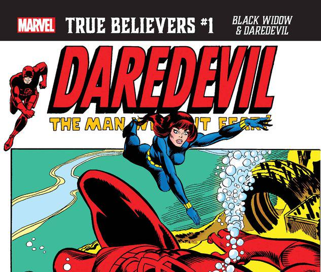 TRUE BELIEVERS: BLACK WIDOW & DAREDEVIL 1 #1