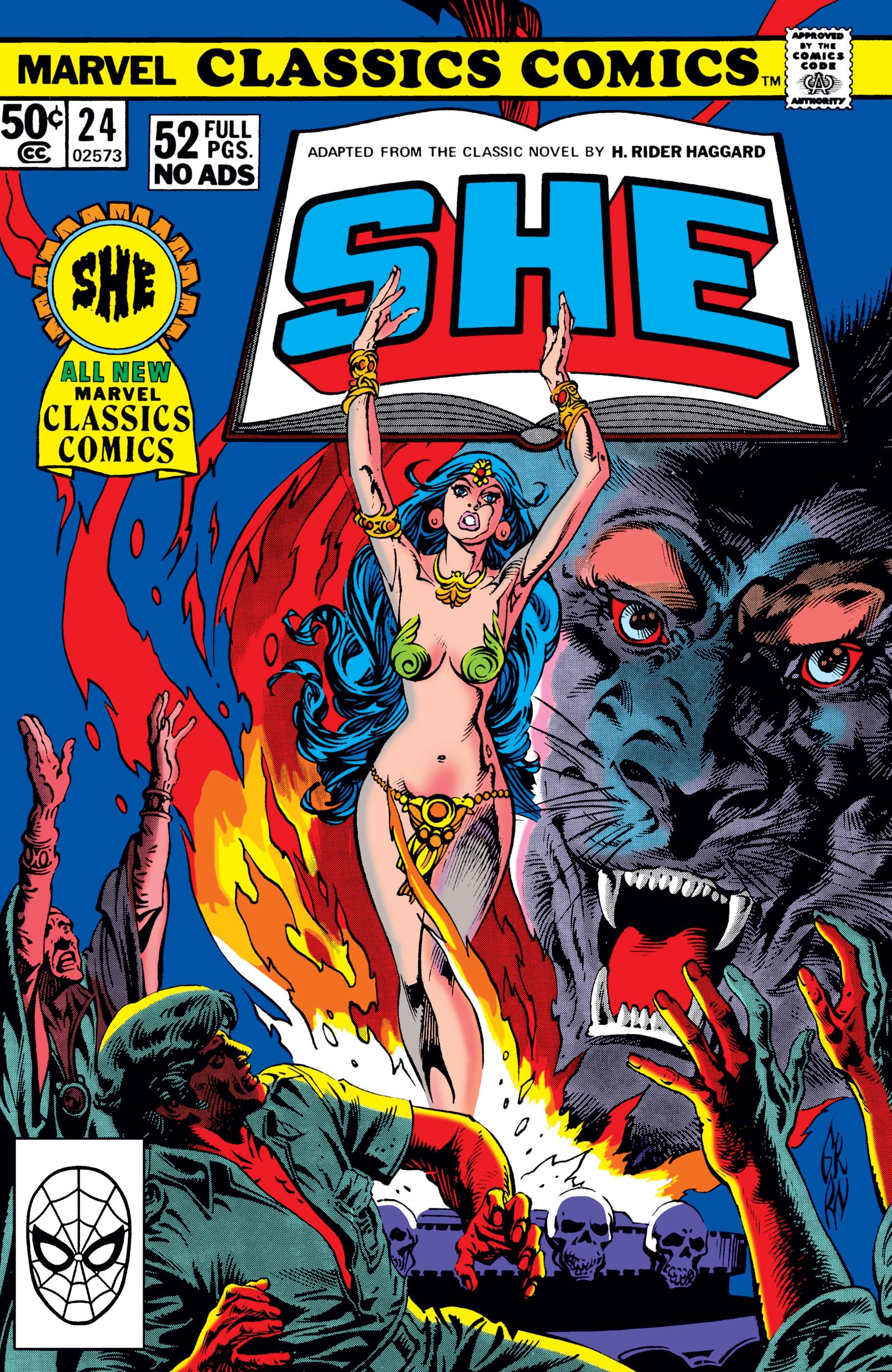 Marvel Classics Comics Series Featuring (1976) #24