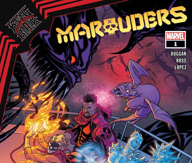 KING IN BLACK: MARAUDERS 1 #1