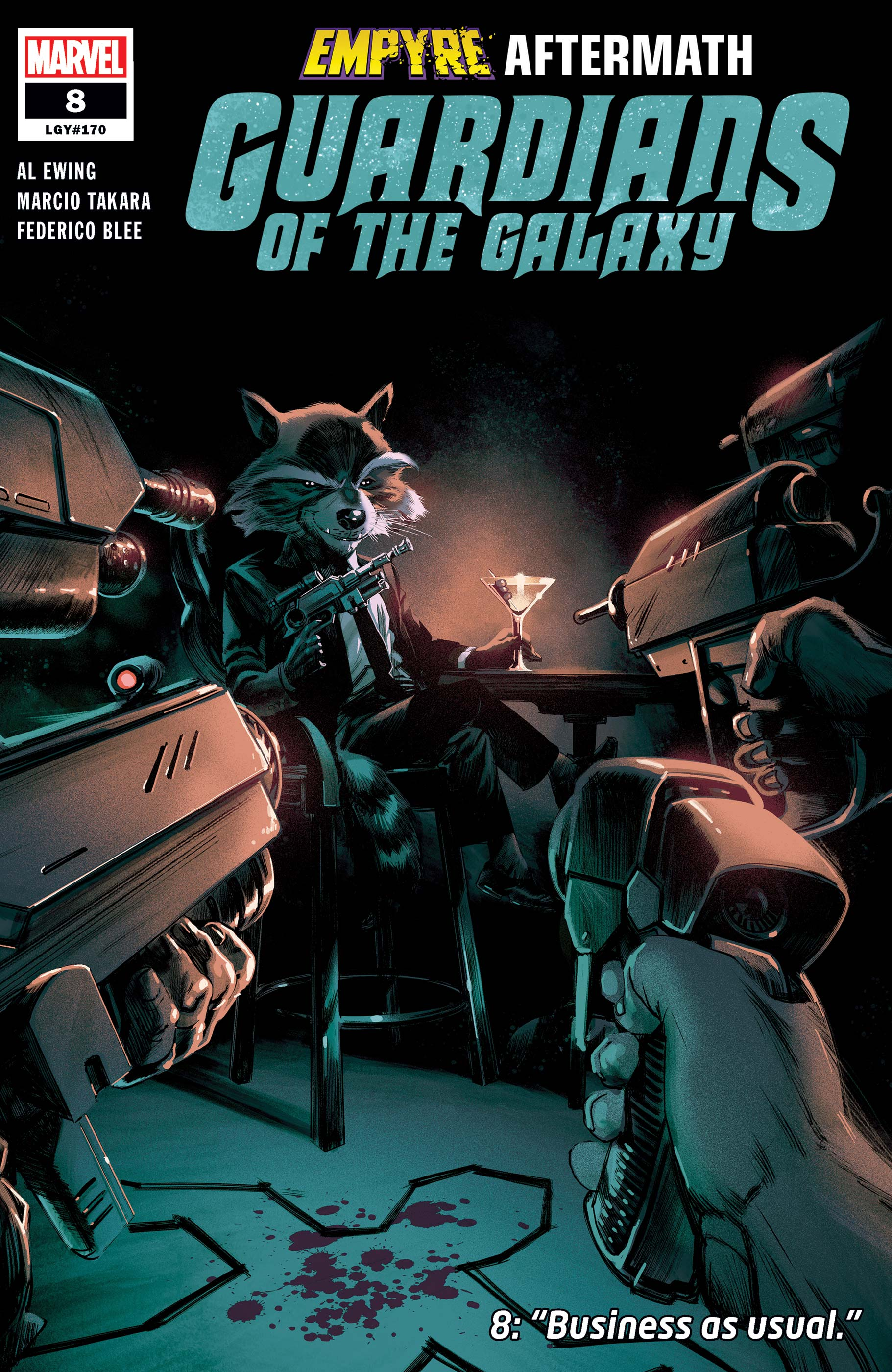 Guardians of the Galaxy (2020) #8
