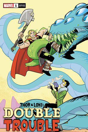 Thor & Loki: Double Trouble (2021) #1 (Variant)