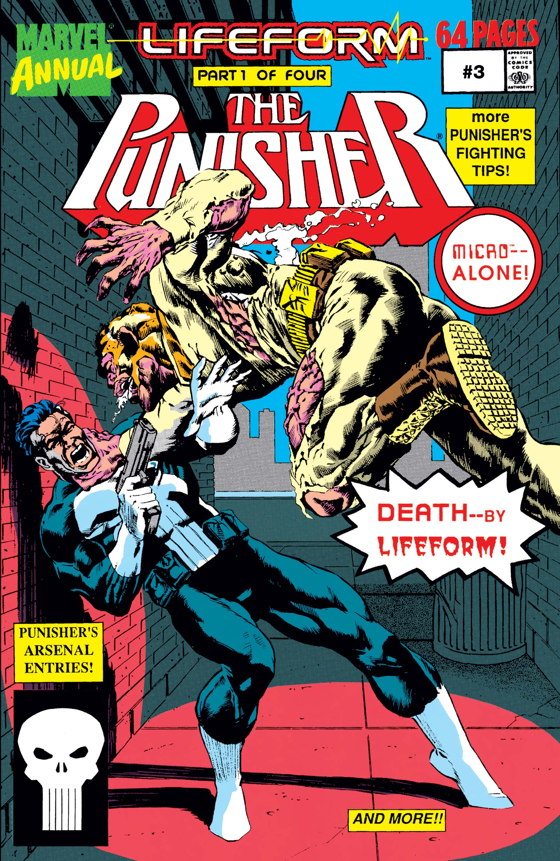 The Punisher Annual (1988) #3