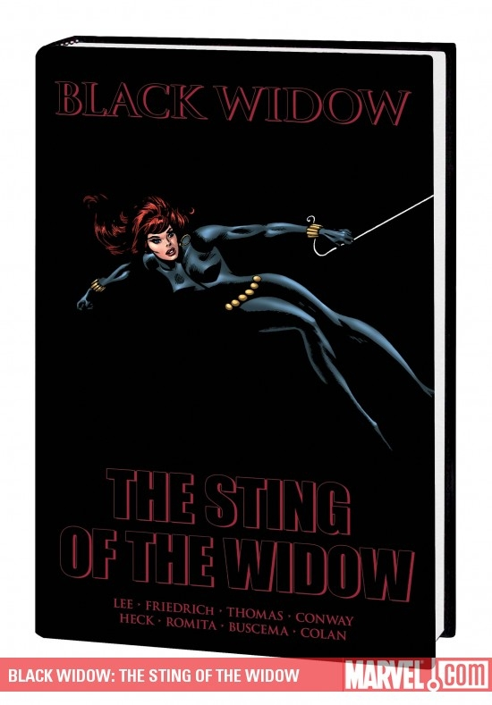 BLACK WIDOW: THE STING OF THE WIDOW PREMIERE HC (Hardcover)