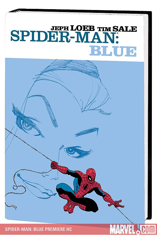 Spider-Man: Blue Premiere (Hardcover)