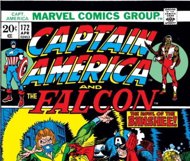 CAPTAIN AMERICA #172 COVER