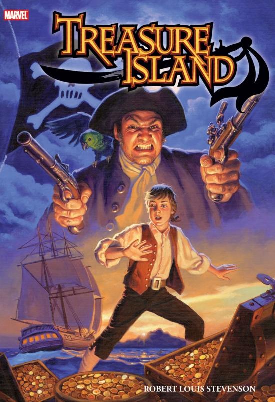 Marvel Illustrated: Treasure Island Premiere (Hardcover)