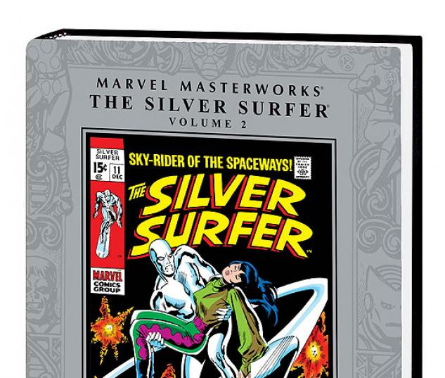 MARVEL MASTERWORKS: THE SILVER SURFER VOL. 2 HC (2ND EDITION, 2ND #0