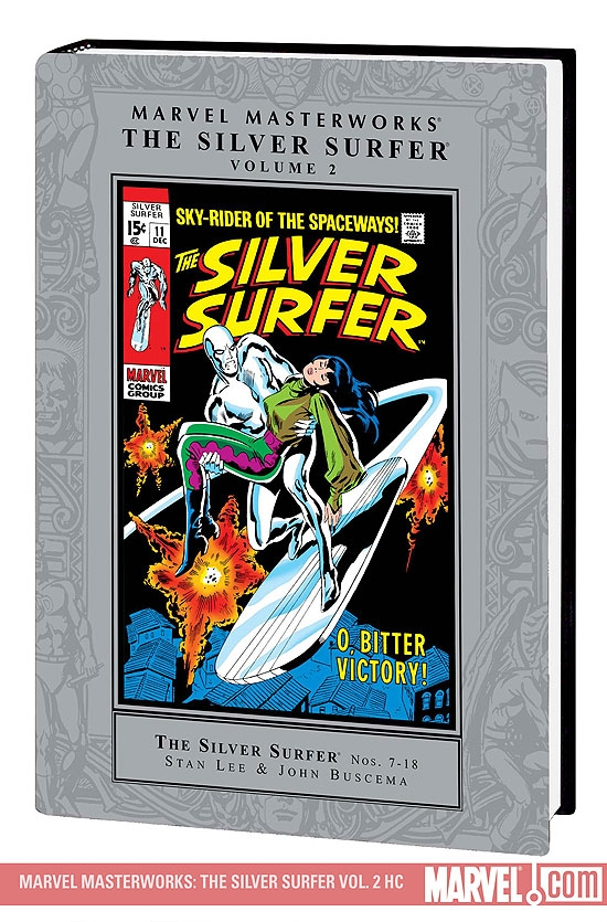 Marvel Masterworks: The Silver Surfer Vol. 2 (2nd Edition, 2nd (Hardcover)