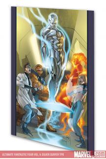 Ultimate Fantastic Four Vol. 9: Silver Surfer (Trade Paperback)