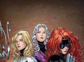 New Avengers: Illuminati #4 cover by Jim Cheung