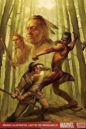 Marvel Illustrated: Last of the Mohicans #1