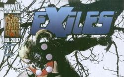 EXILES #99 cover by Tomm Coker