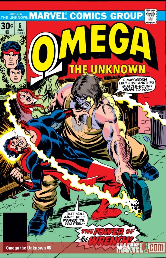 Omega the Unknown (1976) #6
