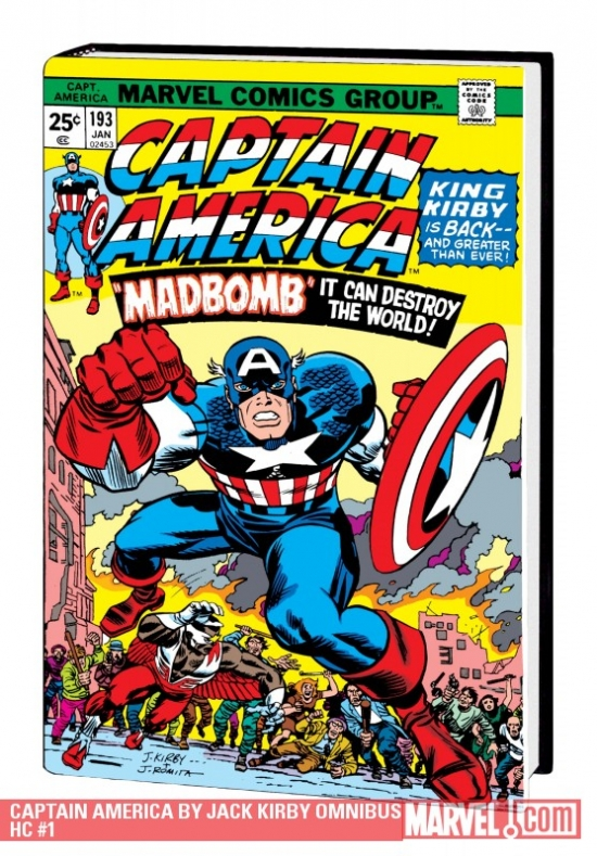 Captain America by Jack Kirby (Hardcover)