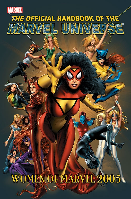Official Handbook of the Marvel Universe (2004) #9 (THE WOMEN OF MARVEL)