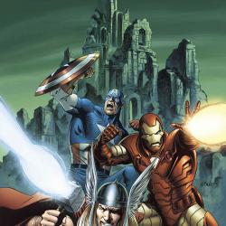 AVENGERS DISASSEMBLED: THOR COVER