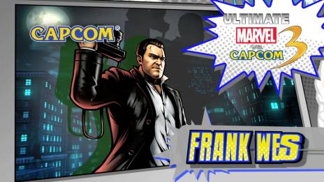 Ultimate Marvel vs. Capcom 3: Frank West