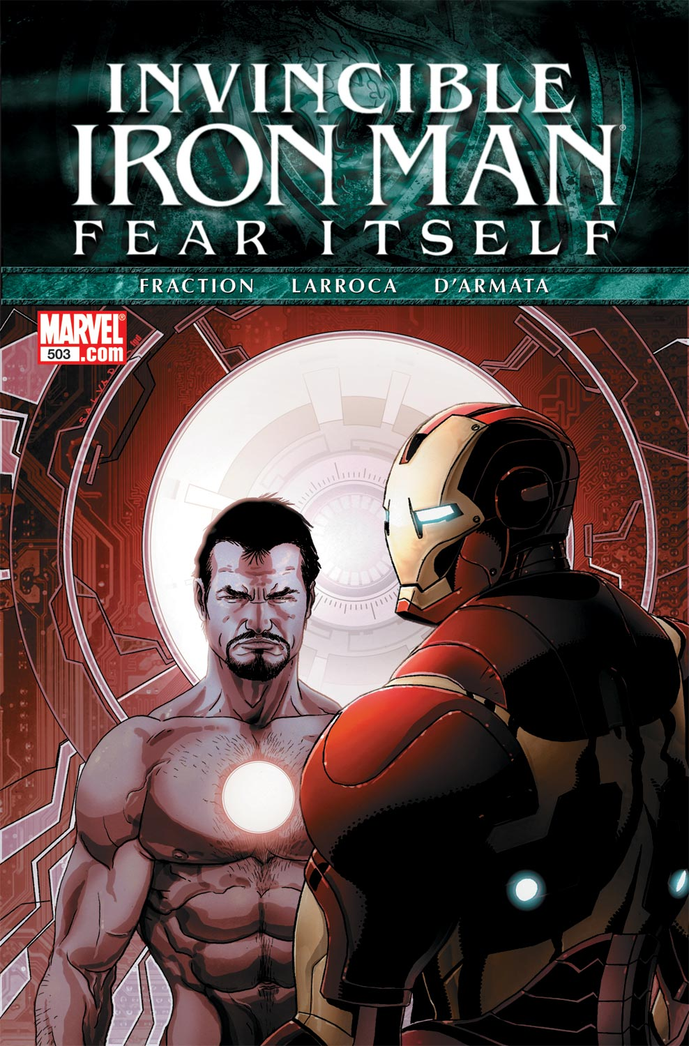 Invincible Iron Man (2008) #503